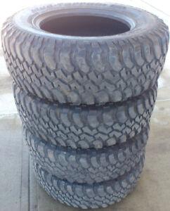 FOUR - BFG Mud-Terrain T/A KMs $200/set