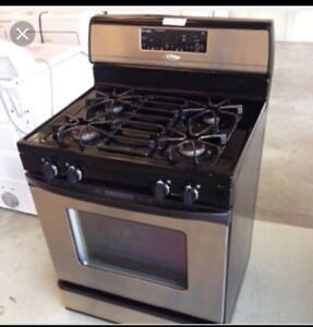 Whirlpool stainless steel gas stove delivery available
