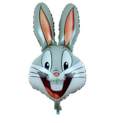 Bunny Birthday Party (Bugs Bunny Rabbit Balloon, Birthday Baby Shower Party Decorations)