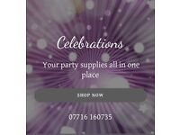 Party supplies in Waltham abbey