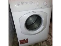 Hotpoint vented tumble dryer free delivery