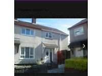 2 bed house / off rd parking / large garden