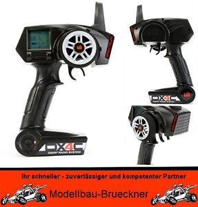 Spektrum DX4C 4 Kanal Pistolenfernsteuerung BNF LOSI 5ive-T NUR SENDER TOP NEU