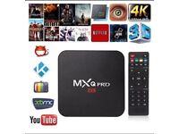 MXQ Pro, 4K, Android Box. Quad Core.