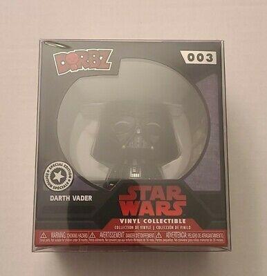 Disney Store Expo 2017 Star Wars Darth Vader #03 Dorbz Funko NIB