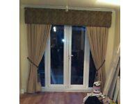Pelments & curtains