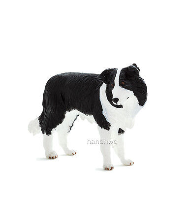 Mojo Fun 387203 Border Collie Herding Dog Toy Model Figurine - NIP