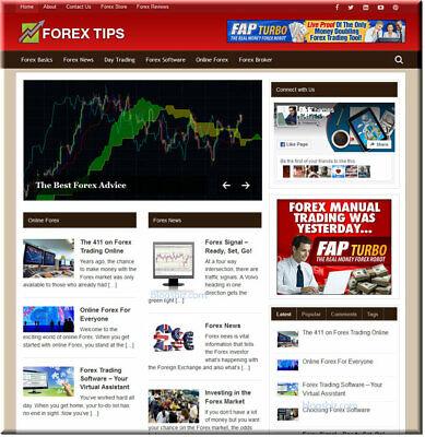 Forex Turnkey Wordpress Website - Click Bank Amazon Store - Easy To Install
