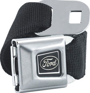 FORD Logo Seat Belt with Buckle - Canvas Belt ( Licensed )