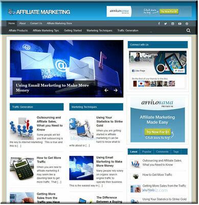 Affiiliate Marketing Wordpress Website - Ready Blog Website - Free Install
