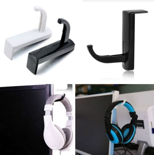 Headphones Holder Earphone Headset Wall PC Monitor Display H