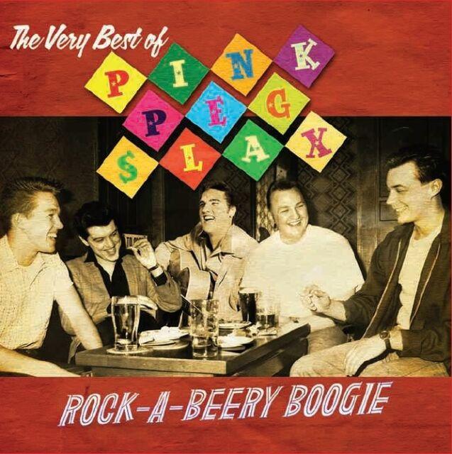 PINK PEG SLAX Rock-A-Beery Boogie VERY BEST OF! 1980s Rockabilly Brand New CD