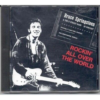 Bruce Springsteen :Rockin'all over the worldPluto Records (PLR CD (Bruce Springsteen Rockin All Over The World)