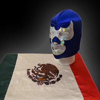 CHRISTMAS Mexican wrestling luchador mask Blue Demon