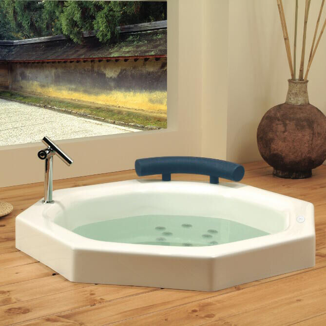 Neptune Nagano With Whirlpool Jets : Deep Drop-in Bath With Seat Na40