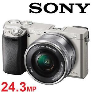 NEW SONY A6000 CAMERA W/ 16-50 LENS - 124498400 - MIRRORLESS DIGITAL PHOTOGRAPHY 16-50MM POWER ZOOM LENS KIT