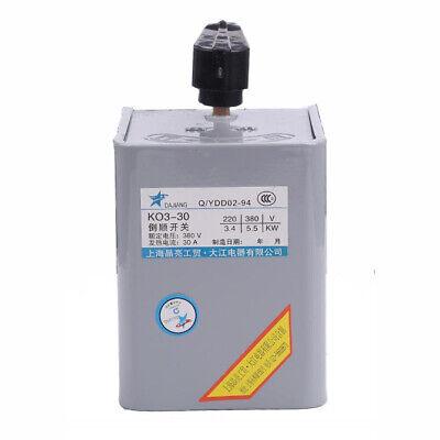 Ac 220v380v 30a Forward Stop Reverse Motor Cam Starter Changeover Switch Us
