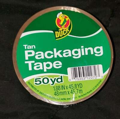 1.88 X 50 Yd Duck Tan Packing Tape - 1 Ct