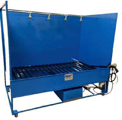 Maxjet Parts Washer Spray Wash Booth Features Heated Wash Rinse