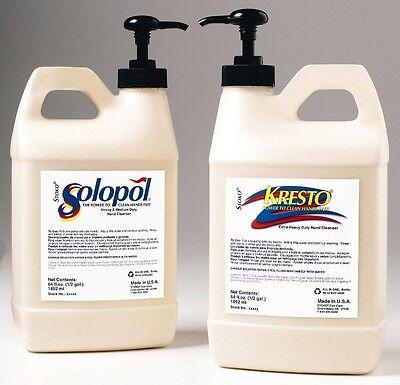 Stockhausen Kresto Hand Cleaner 1/2 Gallon Pump Top FREE SAME DAY SHIPPING