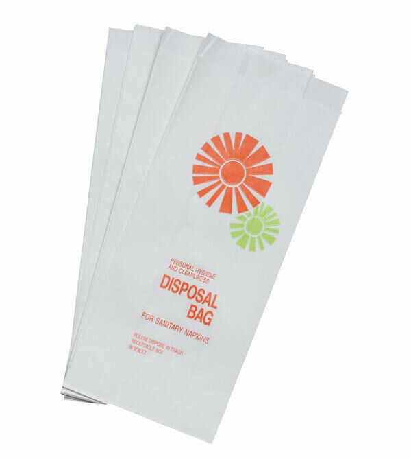 *Closeout Price - Limited Quantity* 1,000 Sanitary Napkin Disposal Bags