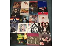 ALMOST 100 VINYL Records LP's. 1950s to 1980s. Metal, New Wave, Country, Punk, Indie etc.