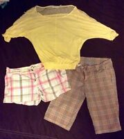 Young ladies clothing. Size 0-2 small-medium