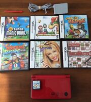 Nintendo DSi XL & Games Lot Kentville