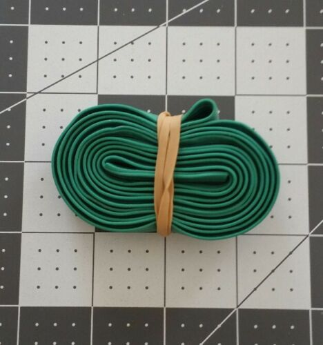 """Extra Large 30"""" X 3/4""""  Rubber Pallet Bands Green"""