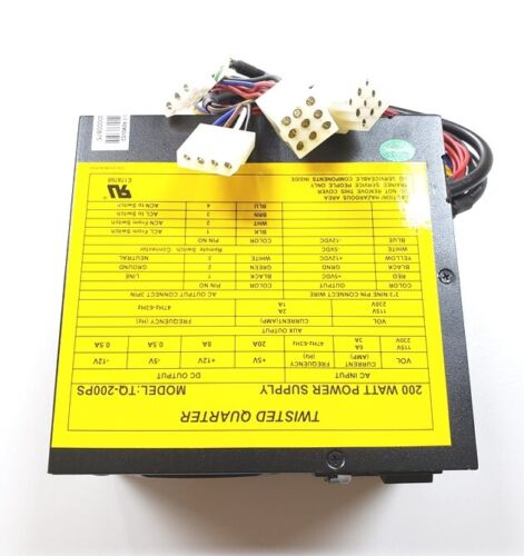 POWER SUPPLY  200 WATT  FOR GOLDEN TEE GREEN BOARDS