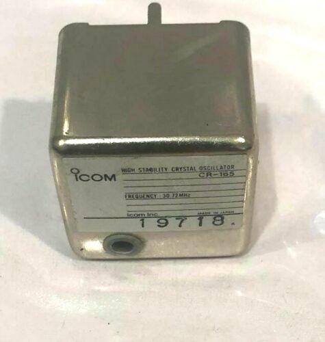 ICOM CR-165 High Stability Crystal Oscillator, 30.72 MHz