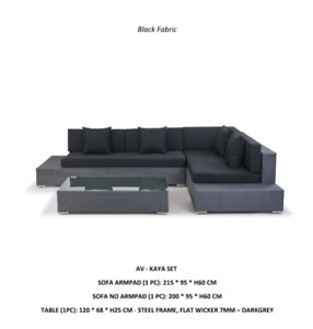 Patio Furniture - Sofas, Chairs, Tables, Wicker Metal Frame