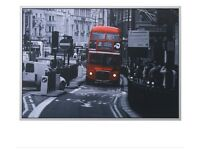 Ikea London bus picture and frame