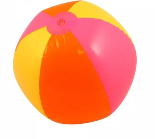 Inflatable Beach Ball Blow Up To 40cm Fun Holiday Party Swimming Kids Garden UK
