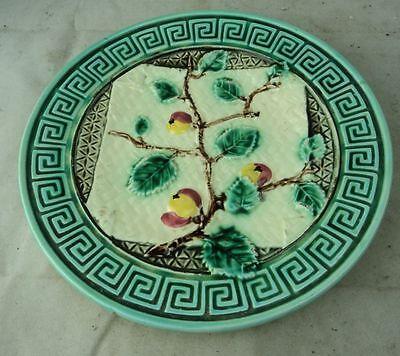 antiker Keramik Teller Jugendstil um 1900