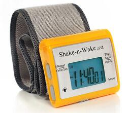 Tech Tools Shake-n-Wake Silent Vibrating Alarm Wrist Watch (Orange) PI-107