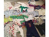 Huge bundle of baby boy clothes