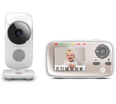 Motorola MBP667 Connect Smart Video Baby Monitor - No Charger - See Description