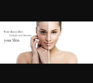 Microdermabrasion treatments for glowing skin! $50