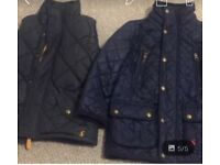 Boys Age 3 years Joules Barbour style jacket & gilet