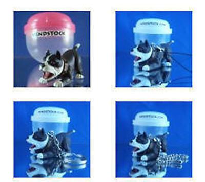 PIT BULL TERRIER #20 HOOD HOUNDS DOG FIGURE DANGLER KEYCHAIN LIGHT FAN LAMP PULL ()