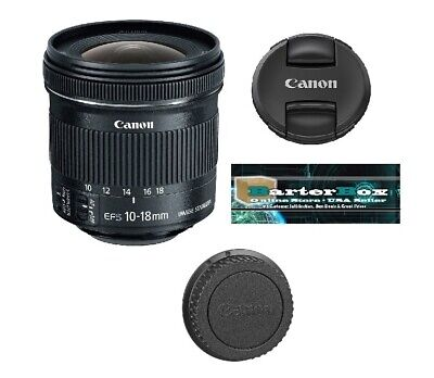 Easter Deal Sale Canon Ef-s 9519B002 10-18mm F/4.5-5.6 Stm Is lens