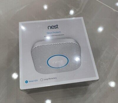 BRAND NEW Google Nest S3005PWLUS 2nd Generation Smoke Detector Wired