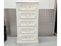 Big Chest of Drawers White