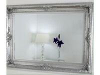 Silver Ornate Mirrors!! New !!