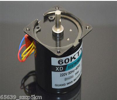 60ktyz Permanent Magnetic Synchronous Gear Motor 220v 14w 15rmin Reversible