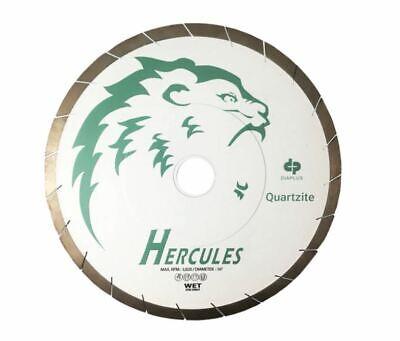 Dia Plus Hercules Bridge Saw Blade For Quartzite Hard Stones Miter Cuts 14