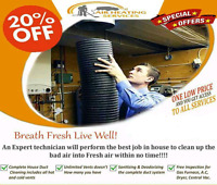 Duct Cleaning Unlimited Vents Special Discounted Price $129.99