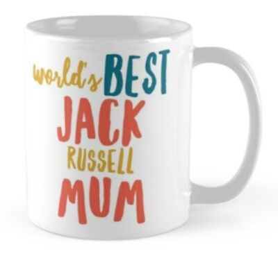 Jack Russell terrier dog mug gift idea present merchandise , used for sale  Shipping to Canada