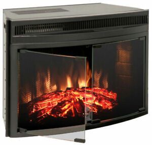 muskoka 28 inch Full View Electric Firebox with Doors